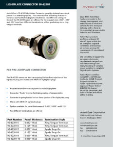 thumbnail of 90-42301 Connector Brochure