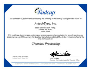 thumbnail of Chemical Processing Certificate 2019