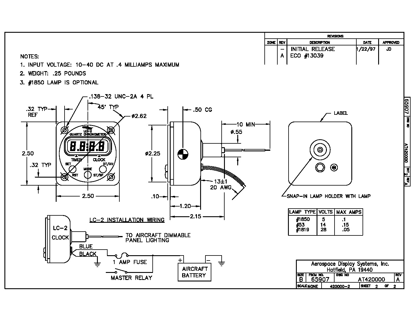 thumbnail of Ads lc-2 Install Drawing