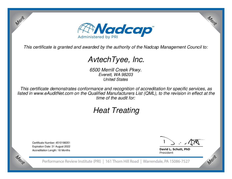thumbnail of Heat Treat Certificate 2021
